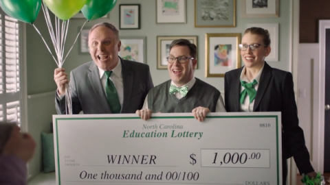 Lottery screengrab